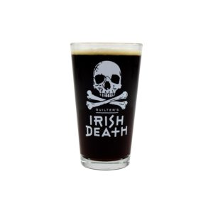 Irish Death Pint Glass