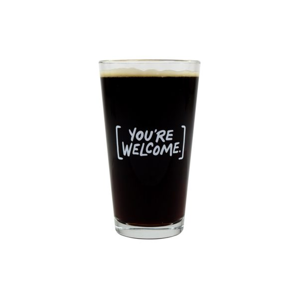 Irish Death Pint Glass 1