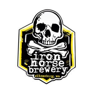Iron Horse Brewery Tin Tacker