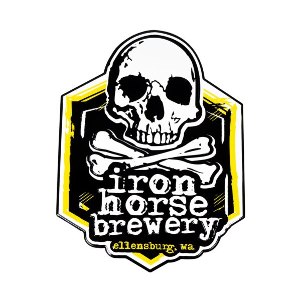 Iron Horse Brewery Tin Tacker