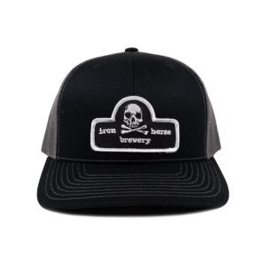 Patch Trucker Hat - Black