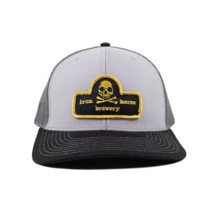 Patch Trucker Hat - Gold