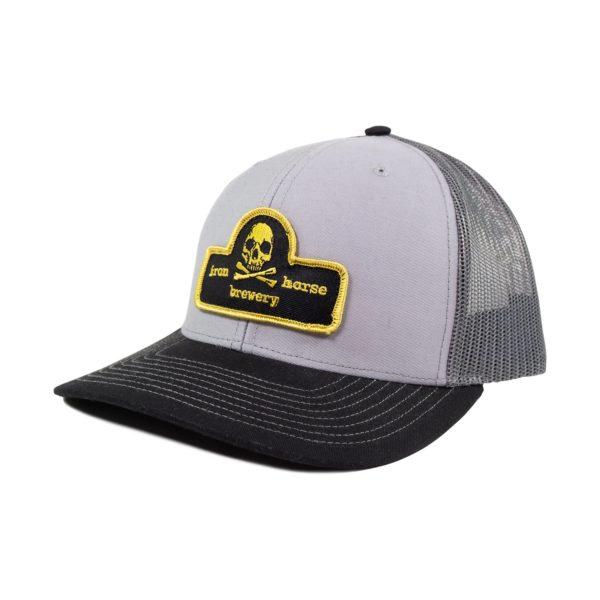 Patch Trucker Hat - Gold 1