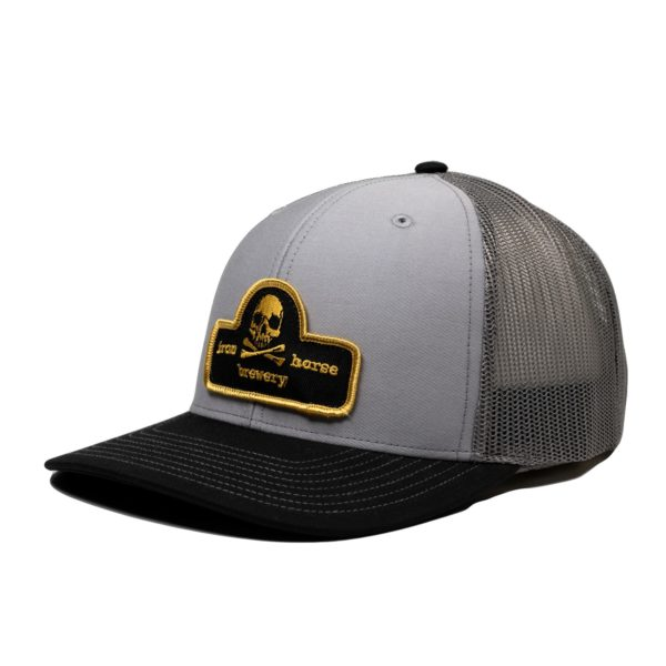 Patch Trucker Hat - Gold 1