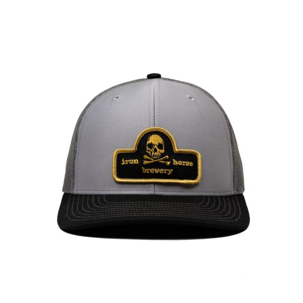 Patch Trucker Hat - Gold 2