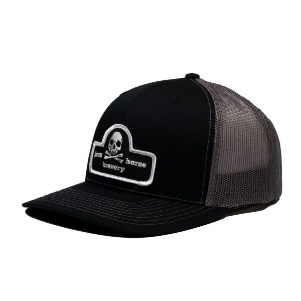 Patch Trucker Hat - Black 1