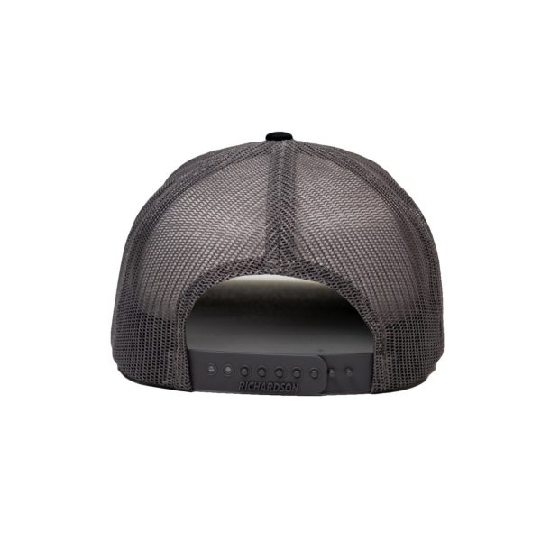 Patch Trucker Hat - Black 3